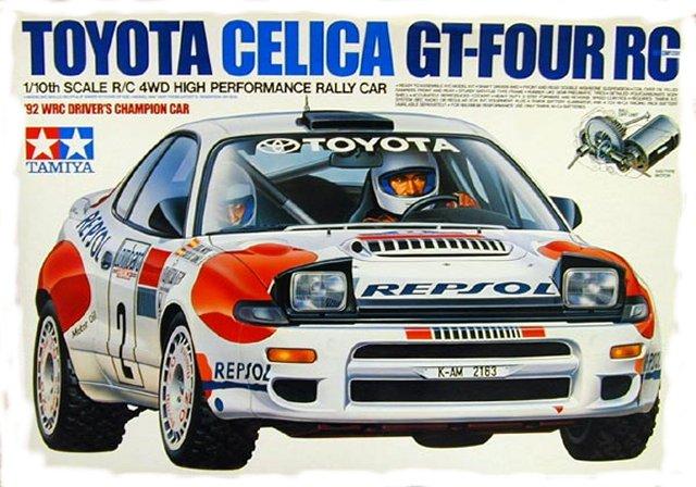 Toyota Celica Gt 2009. Tamiya Toyota-Celica-GT-FOUR